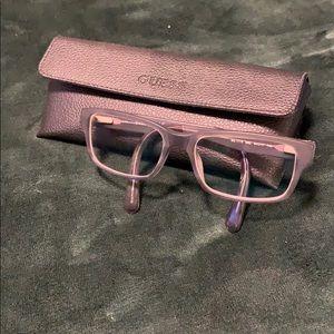 Guess Blue Matte Glasses